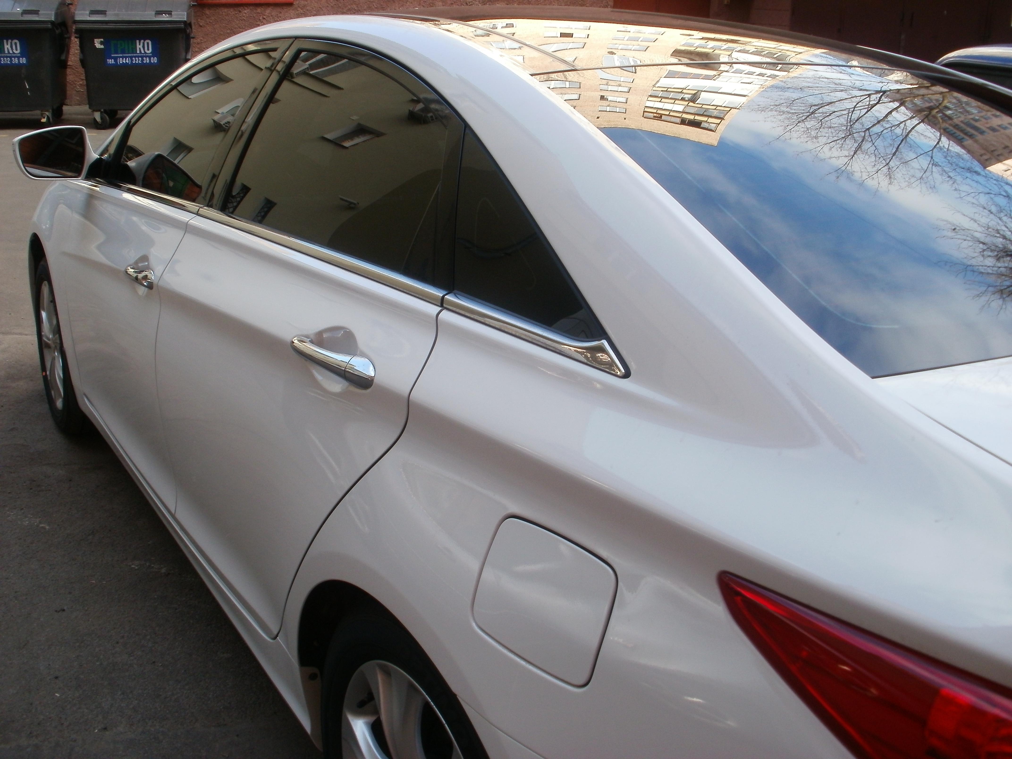 Тонировка стекол Hyundai Sonata