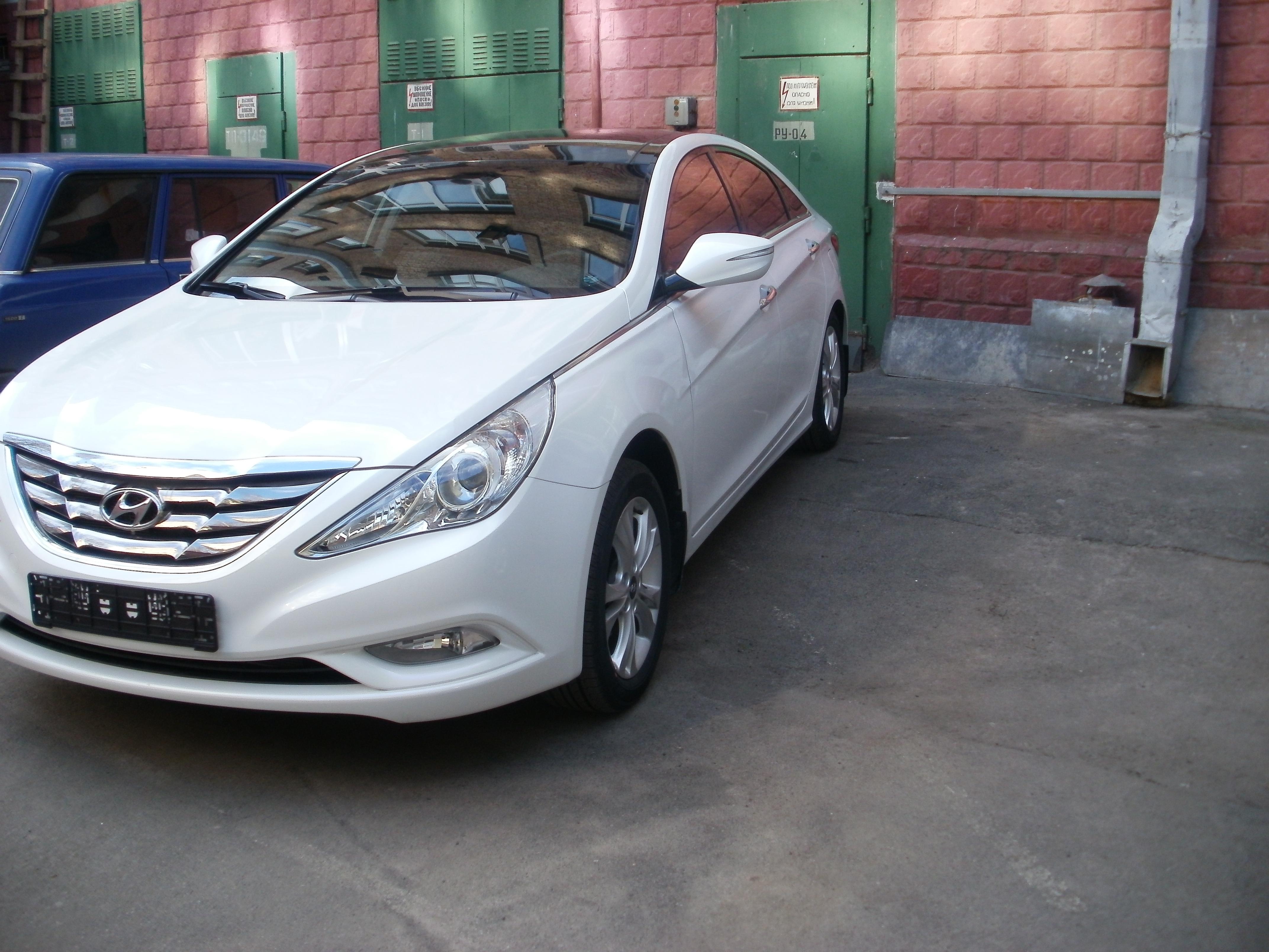 Тонировка авто киев Hyundai Sonata