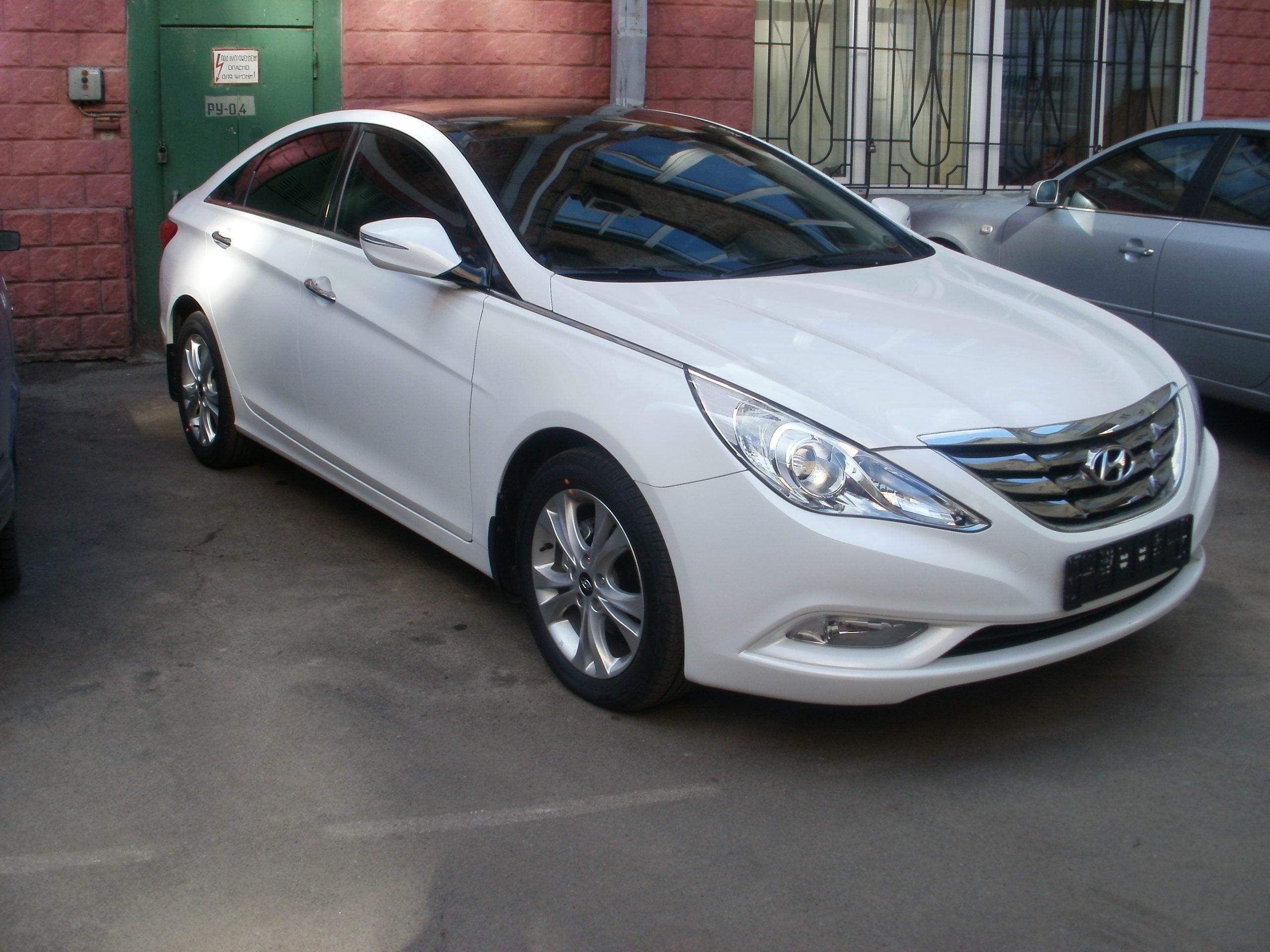 Тонирование авто Hyundai Sonata