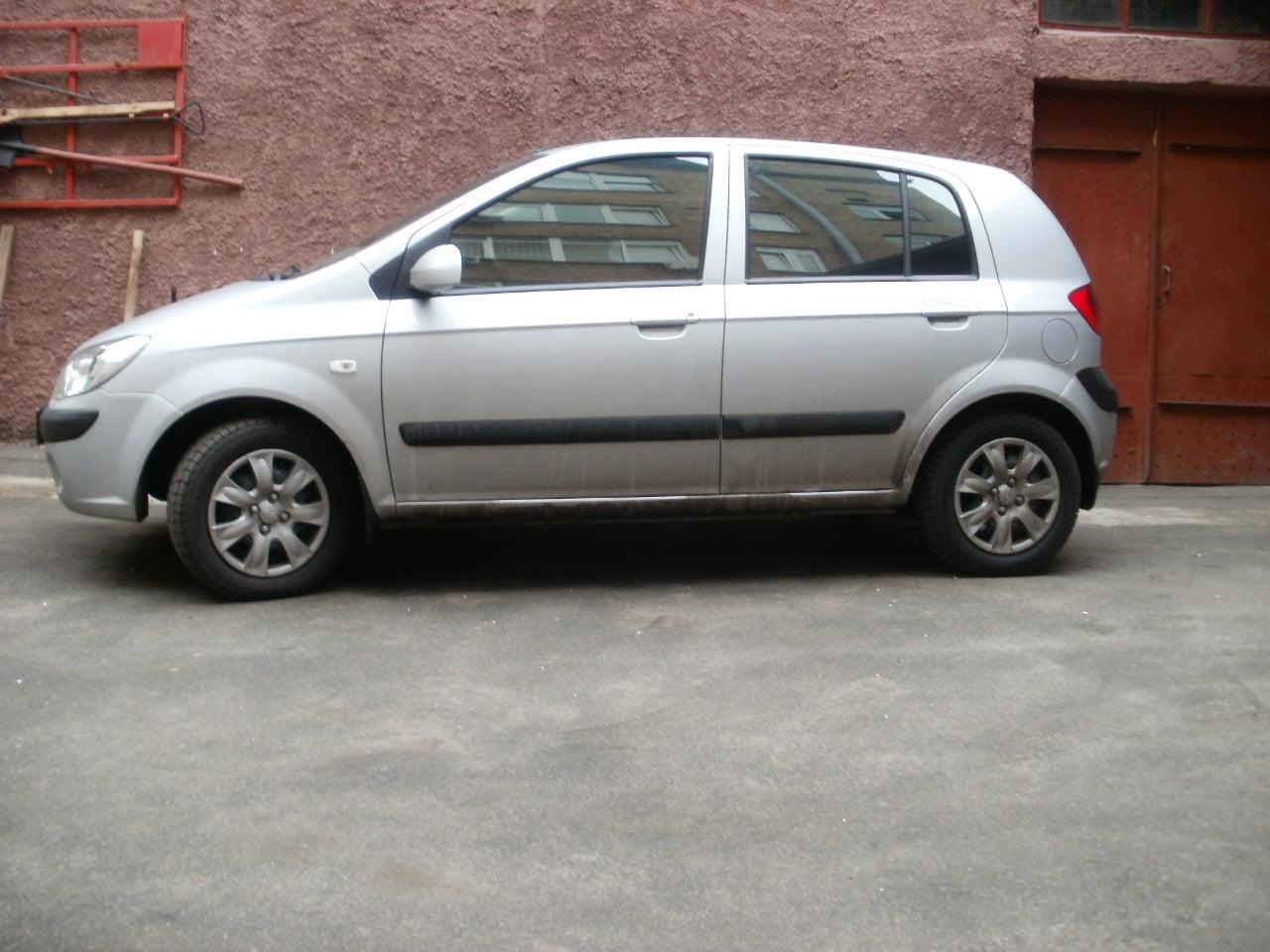 тонировка авто киев Hyundai Getz