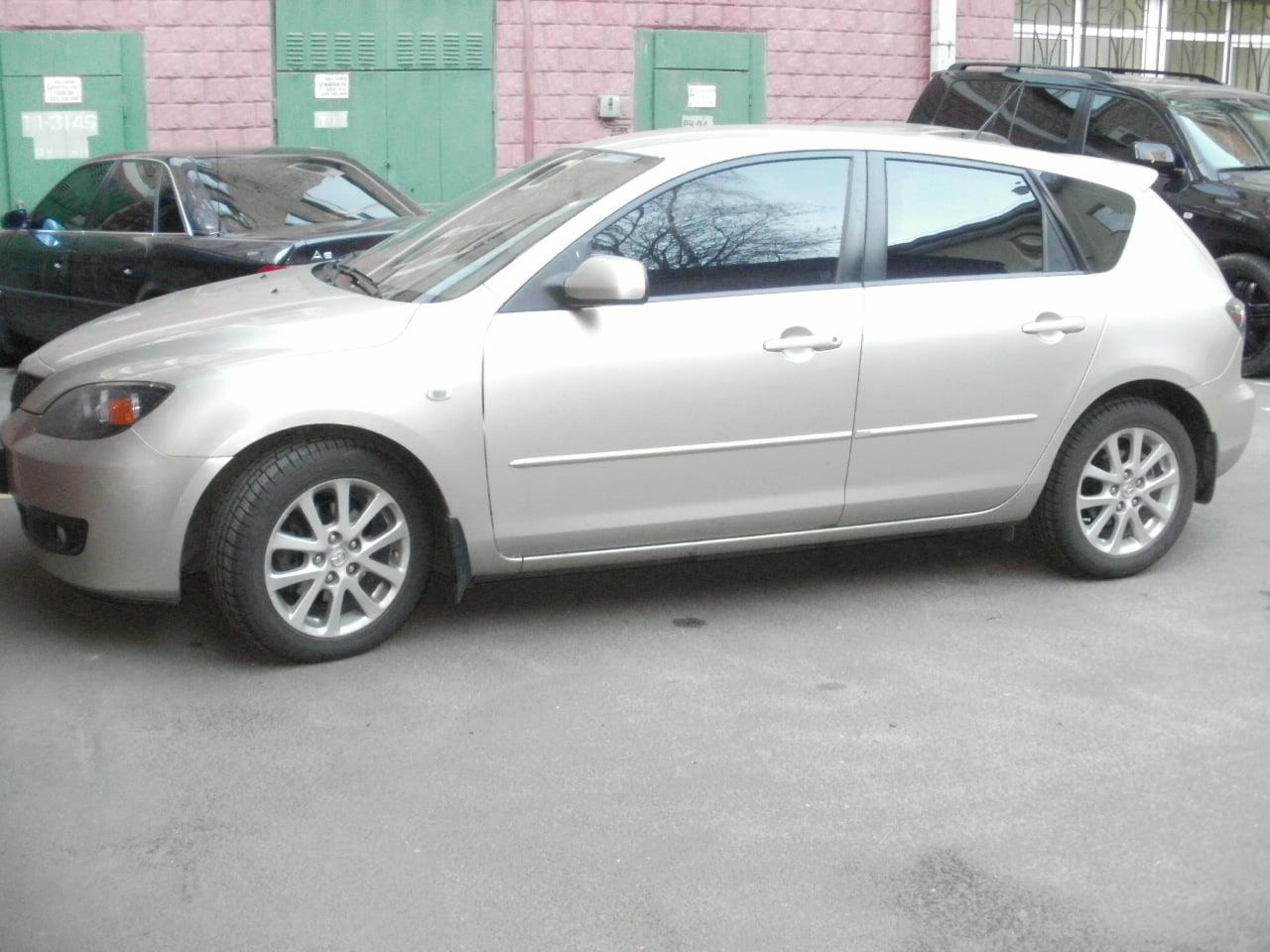 тонировка Mazda 3