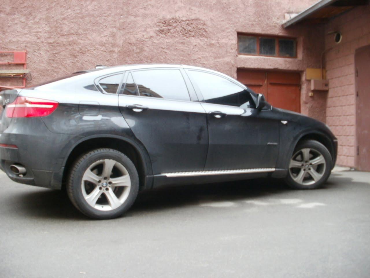 тонирование киев BMW X6