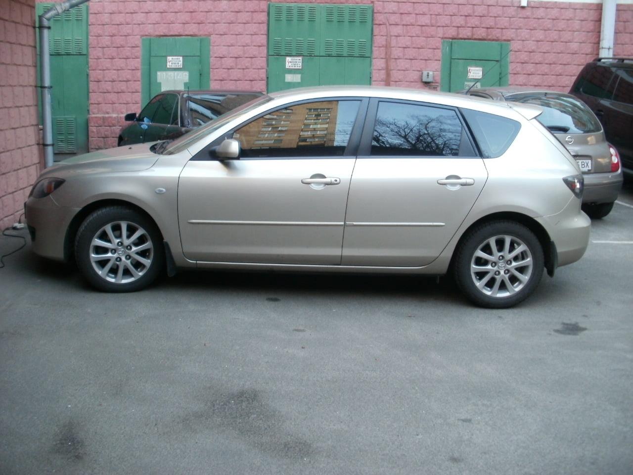 тонировка киев Mazda 3
