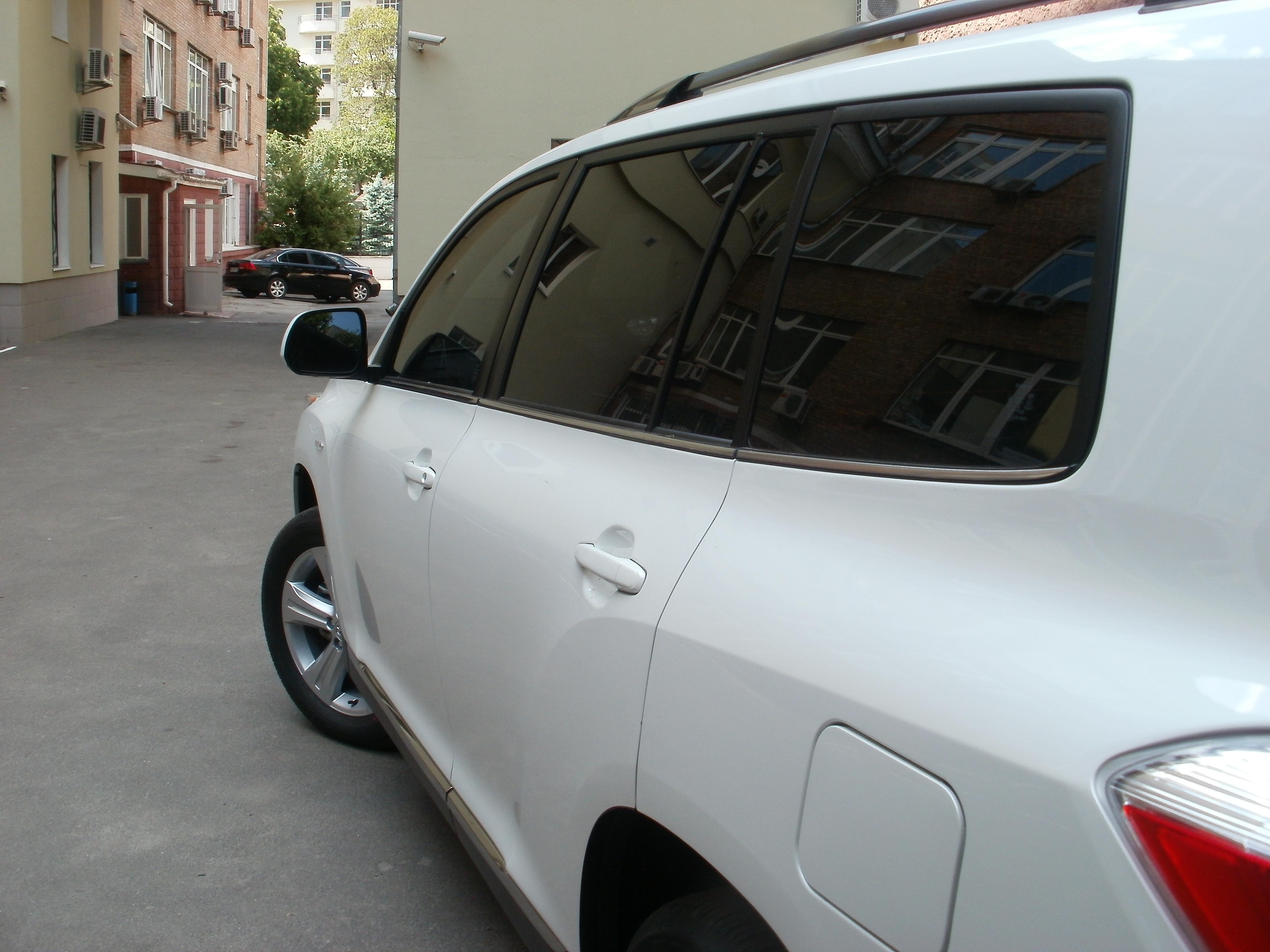 тонировка авто киев Toyota Highlander