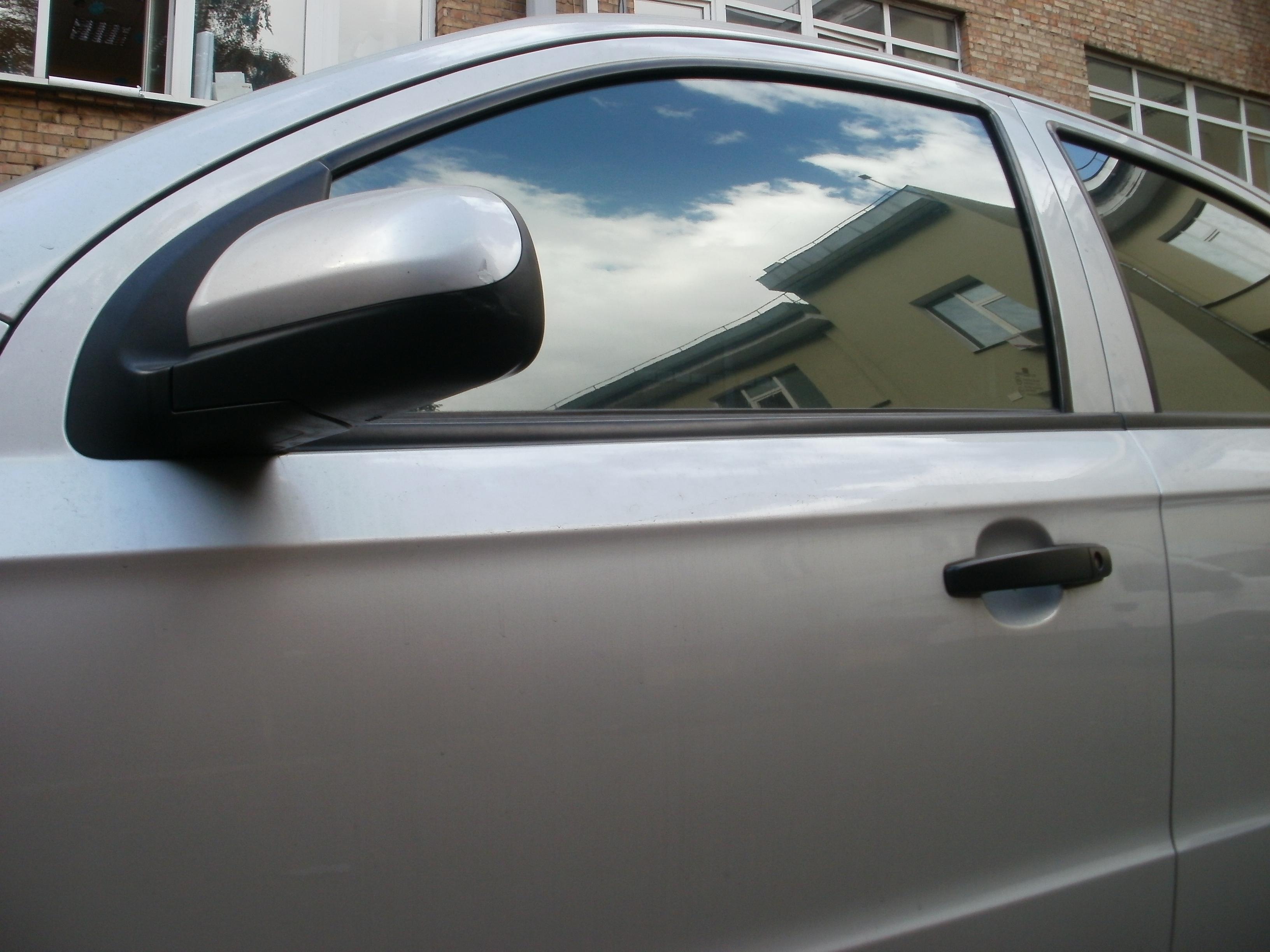 тонировать стекла в Chevrolet Aveo