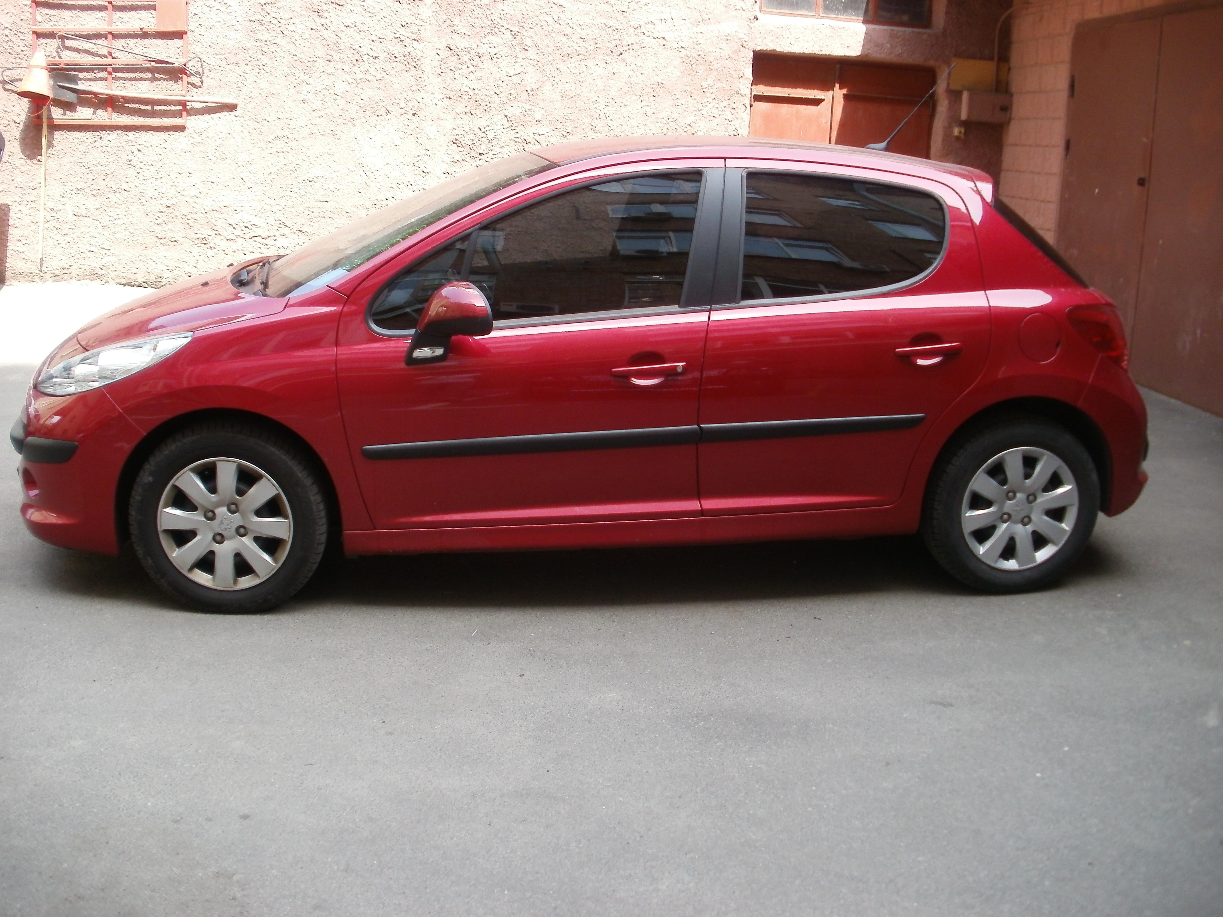 тонировка авто киев Peugeot 207