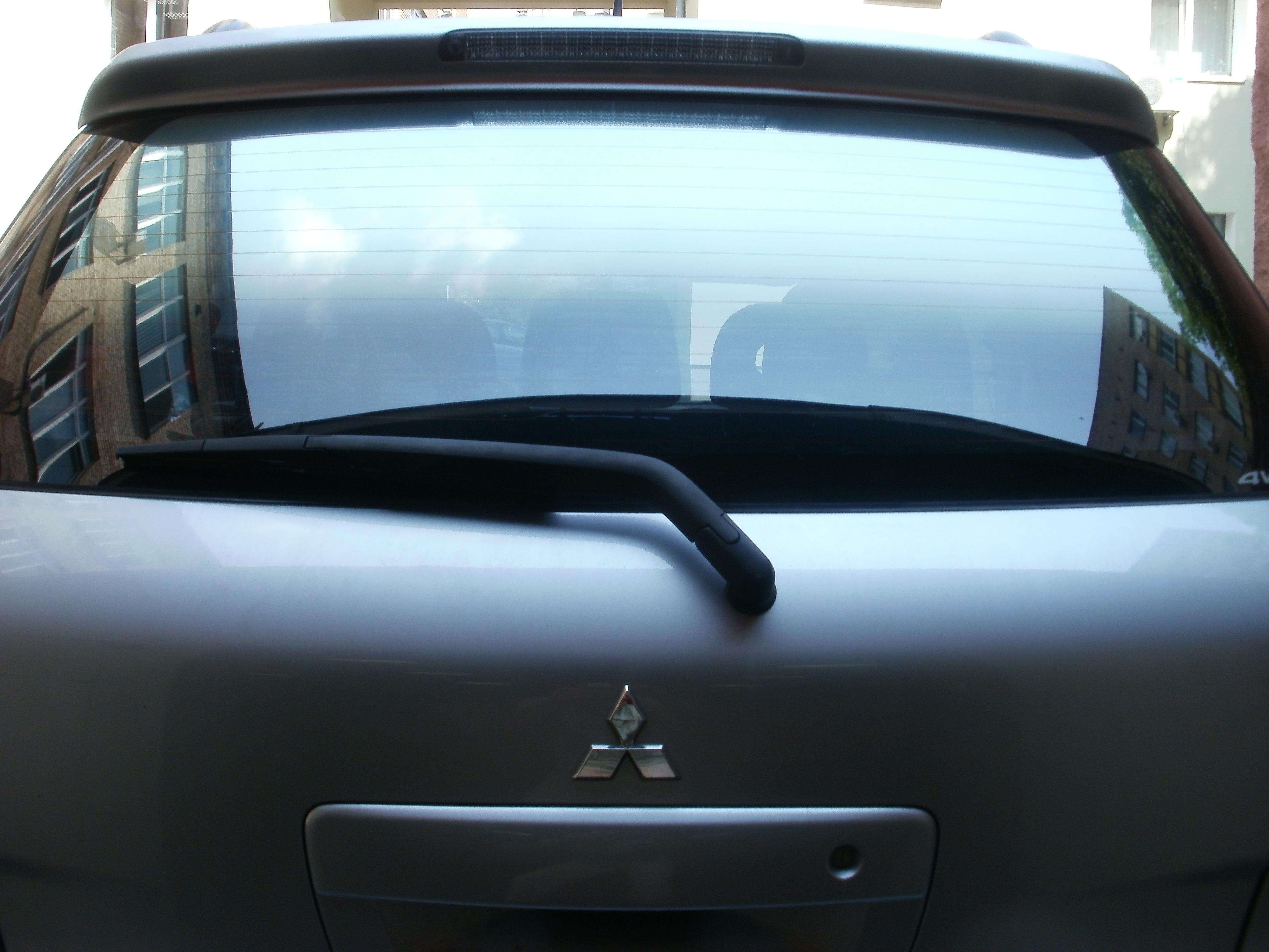 пленка с переходо тонировка авто Mitsubishi Outlander