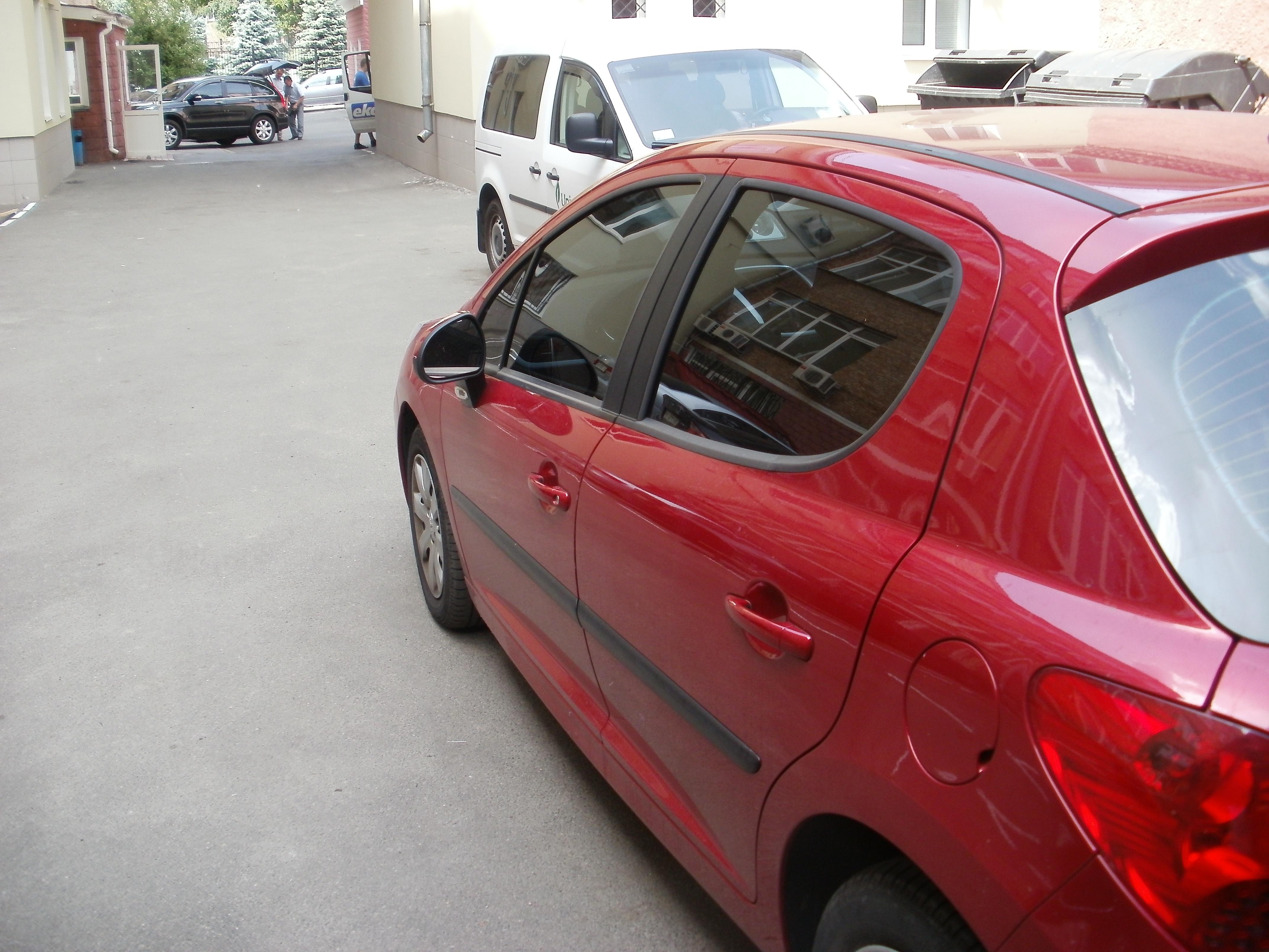 тонировка киев Peugeot 207
