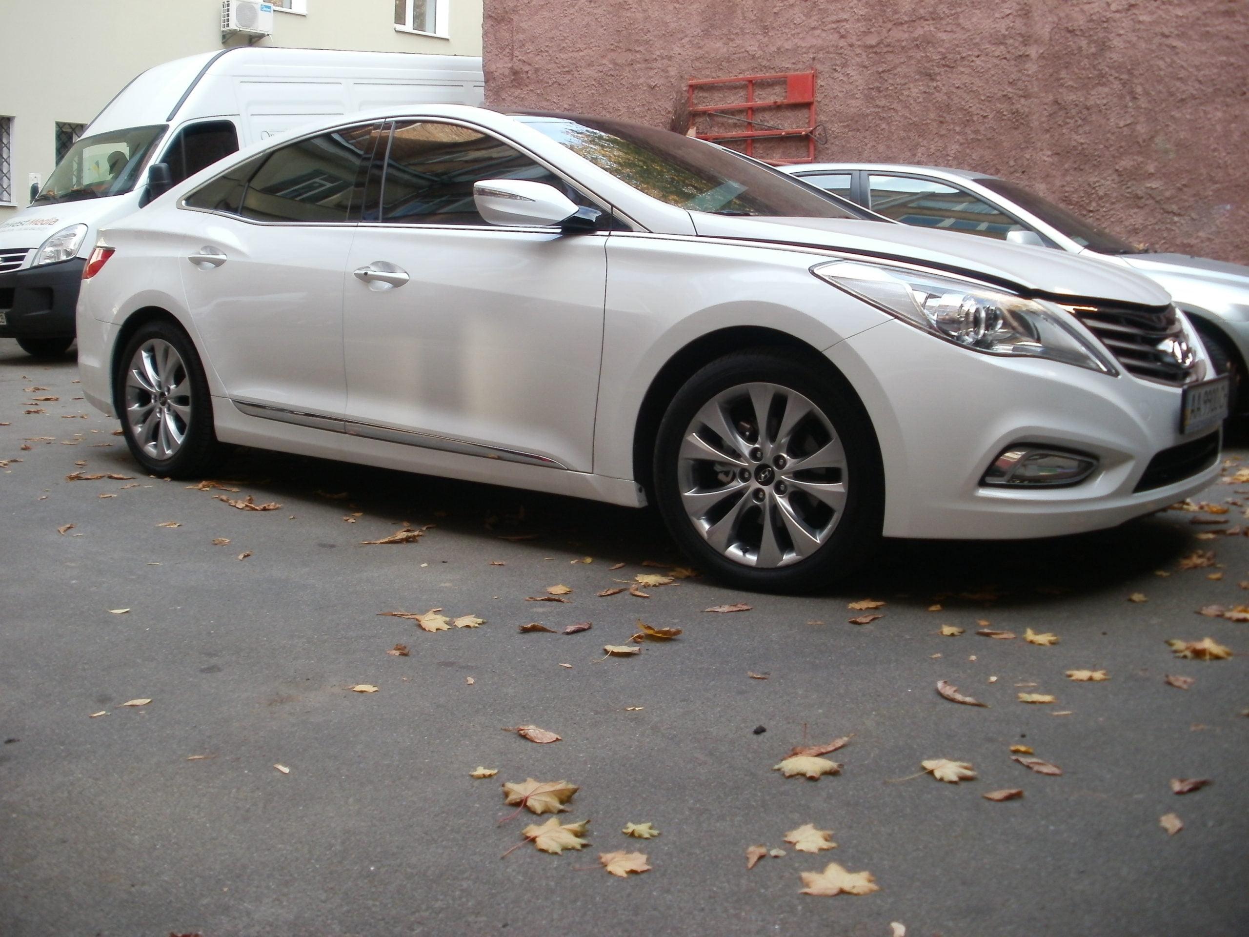 тонировка авто киев Hyundai Azera