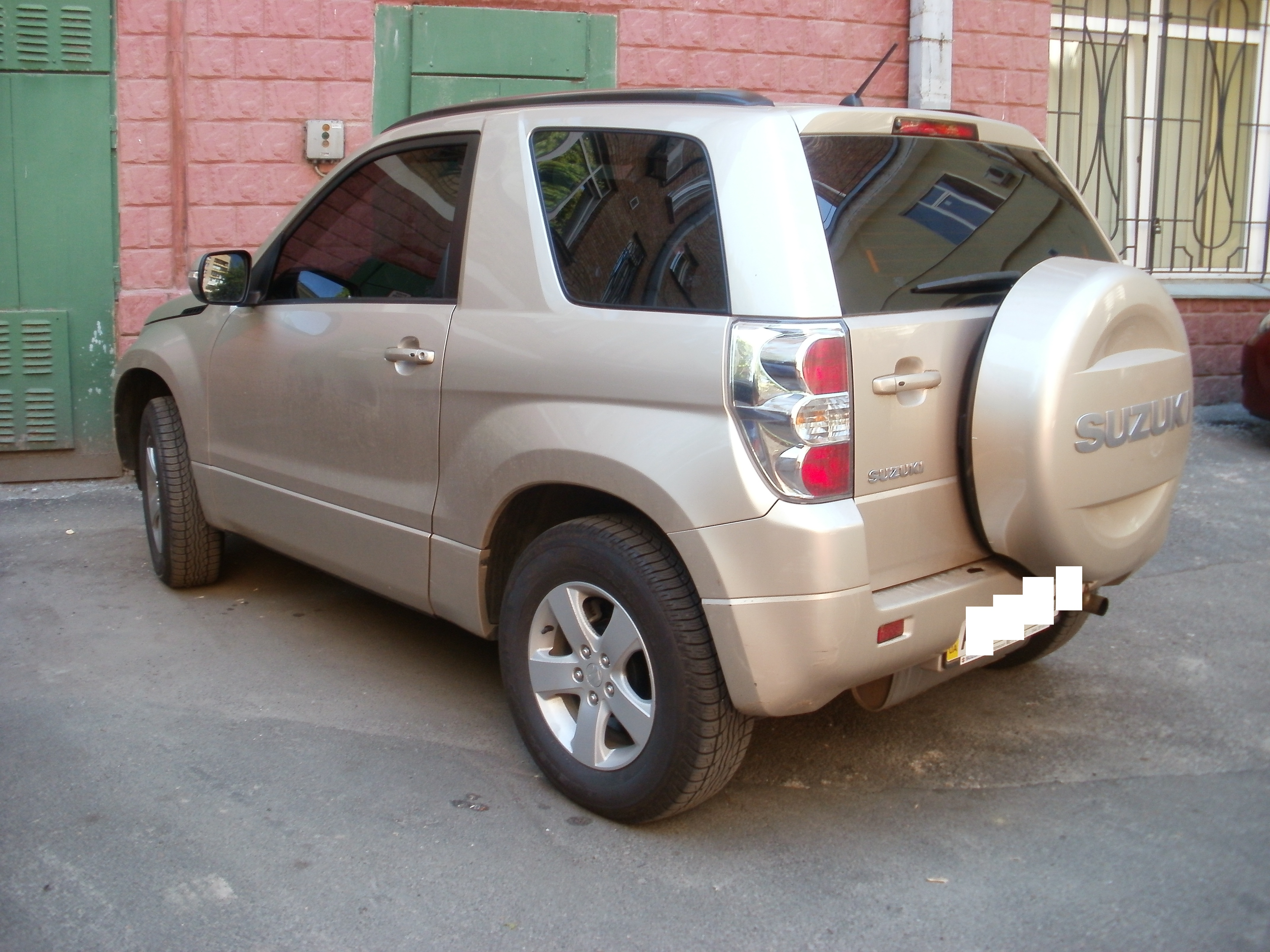 Suzuki Grand Vitara тонировка авто киев цена