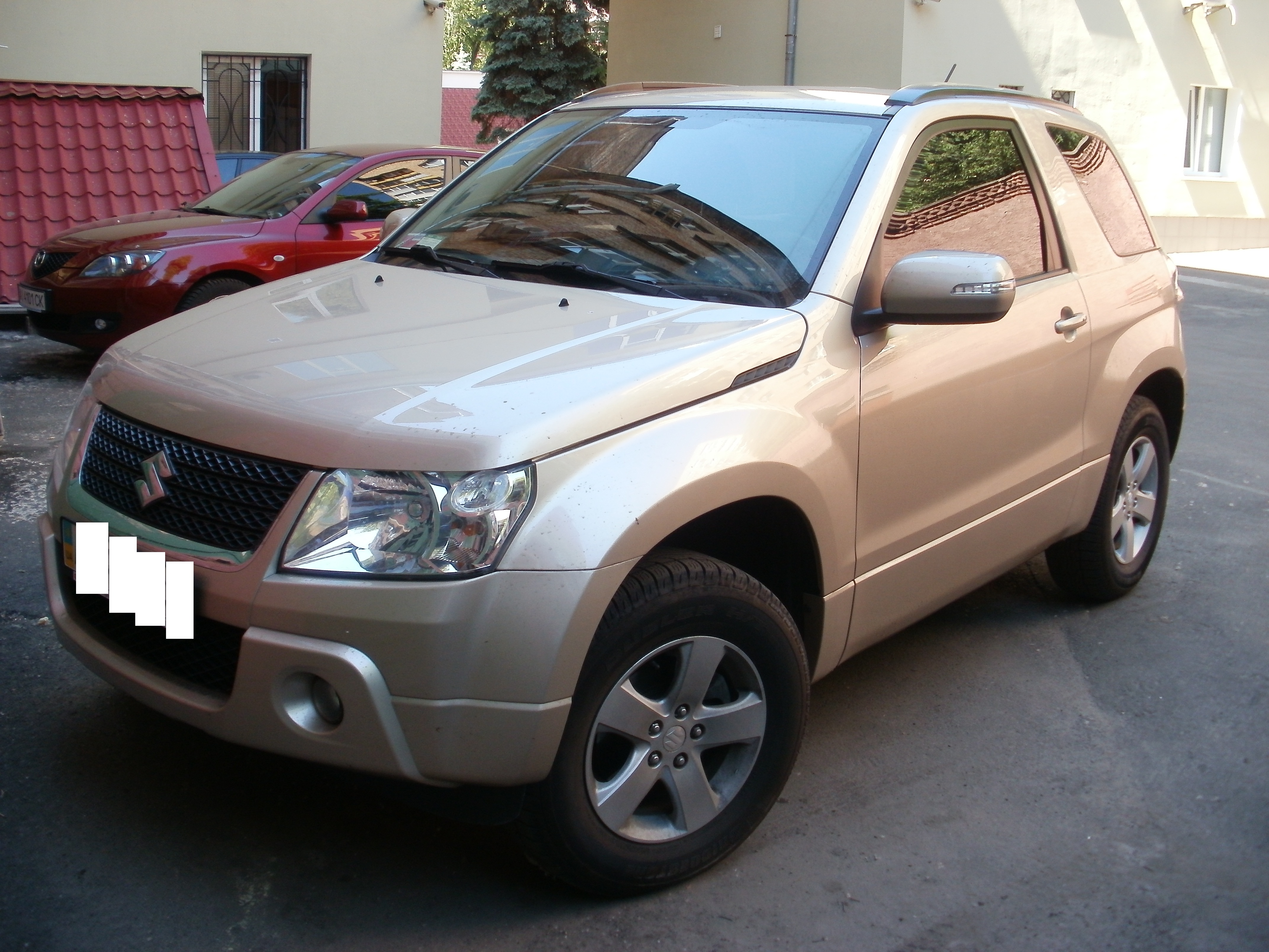 Suzuki Grand Vitara тонировка