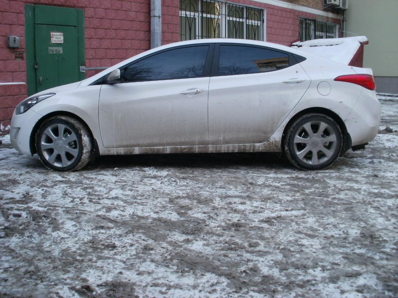 тонировка авто киев Hyundai Elantra