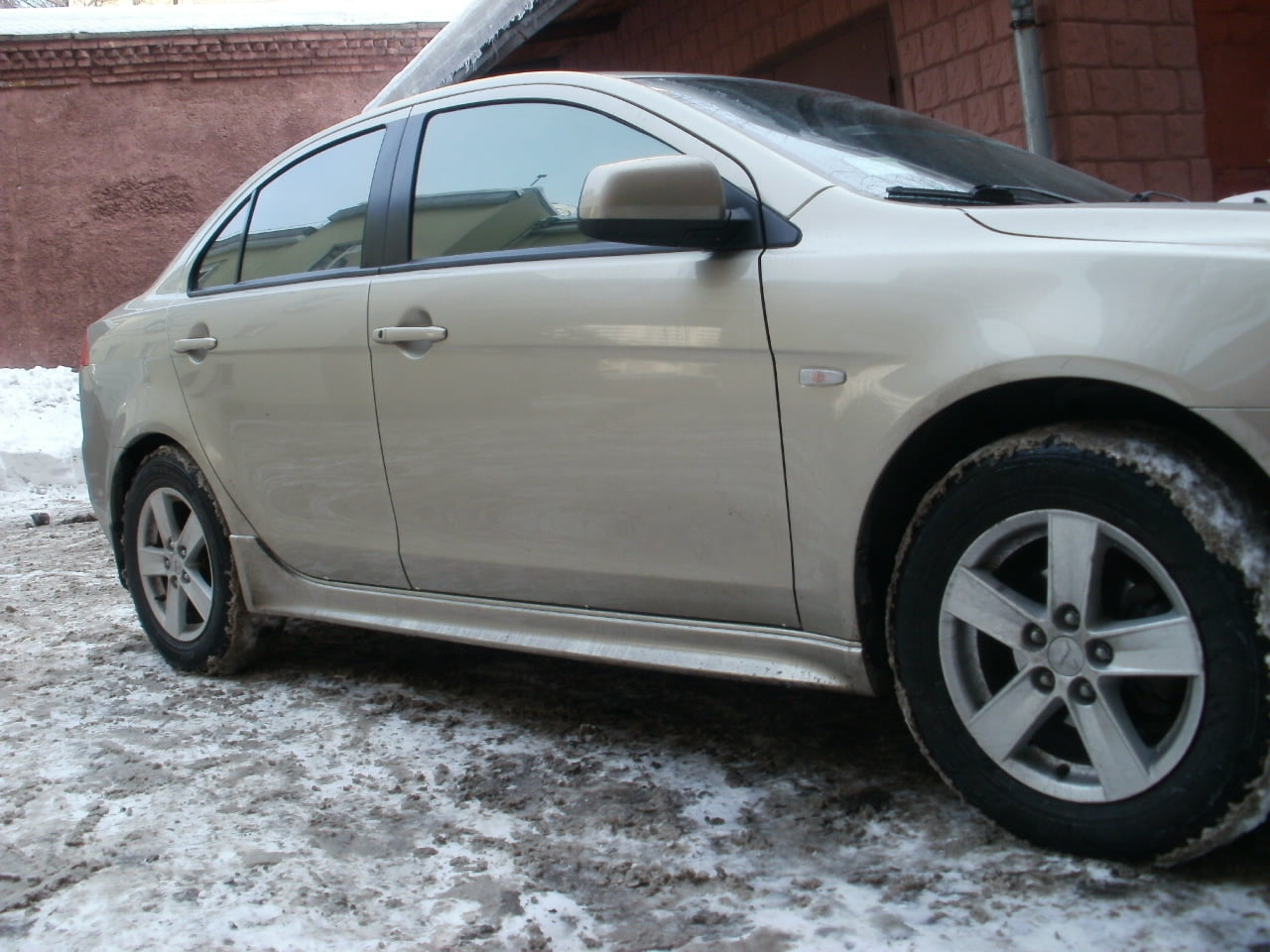 тонировка стекол авто цена Mitsubishi Lancer