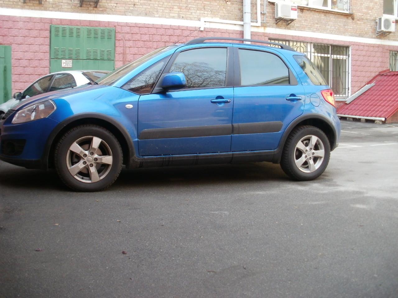 тонировка Suzuki SX4