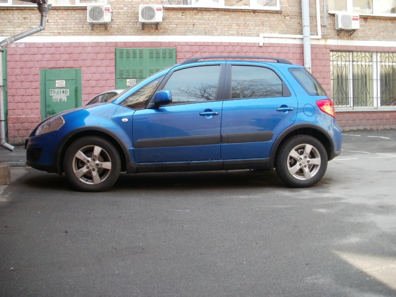 тонировка киев Suzuki SX4