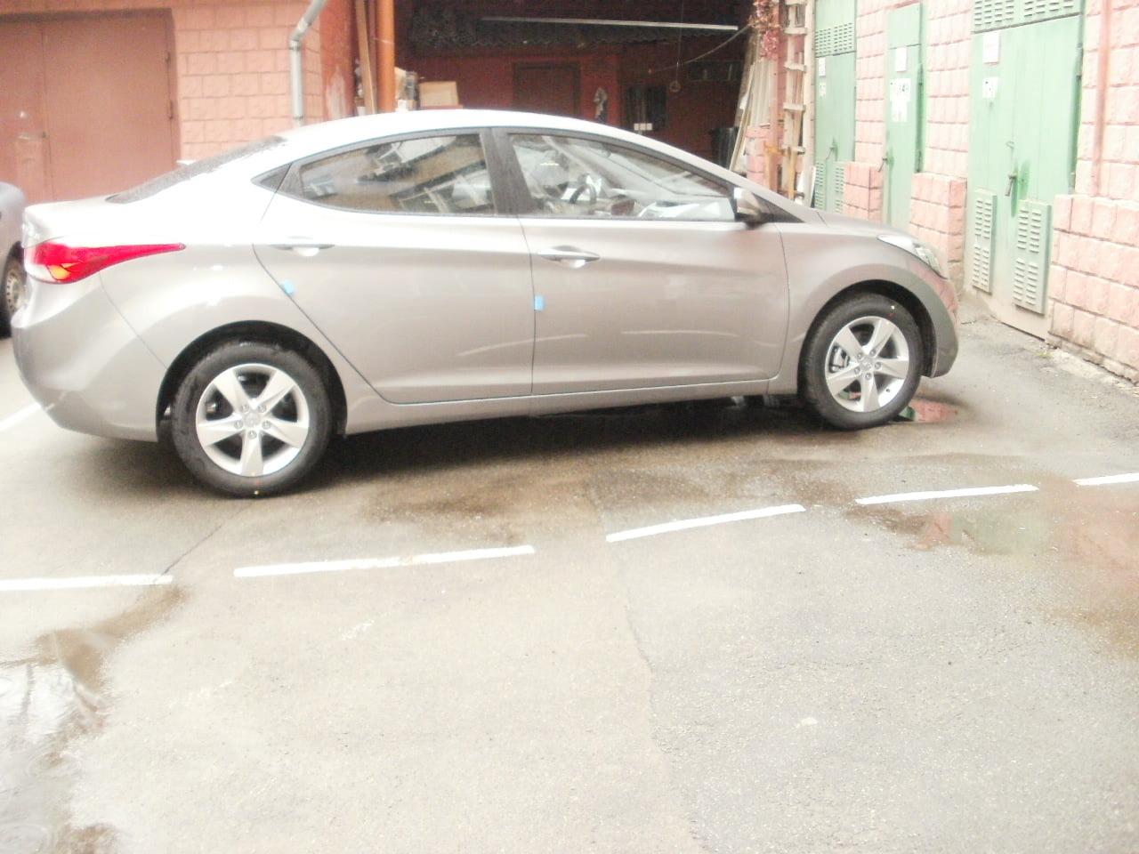 тонировка авто Hyundai Elantra