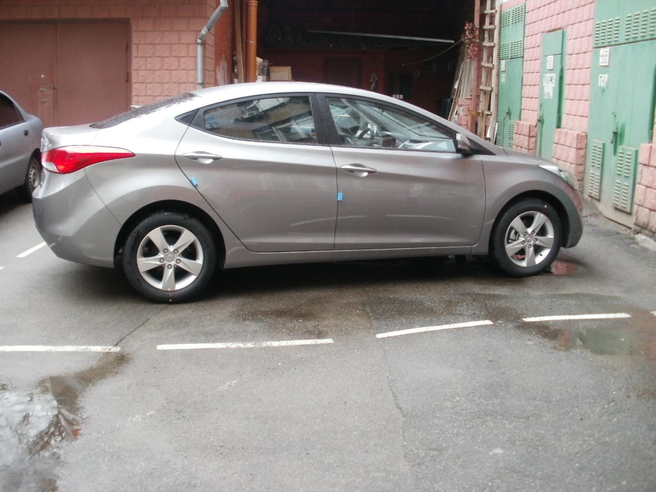 тонирование Hyundai Elantra