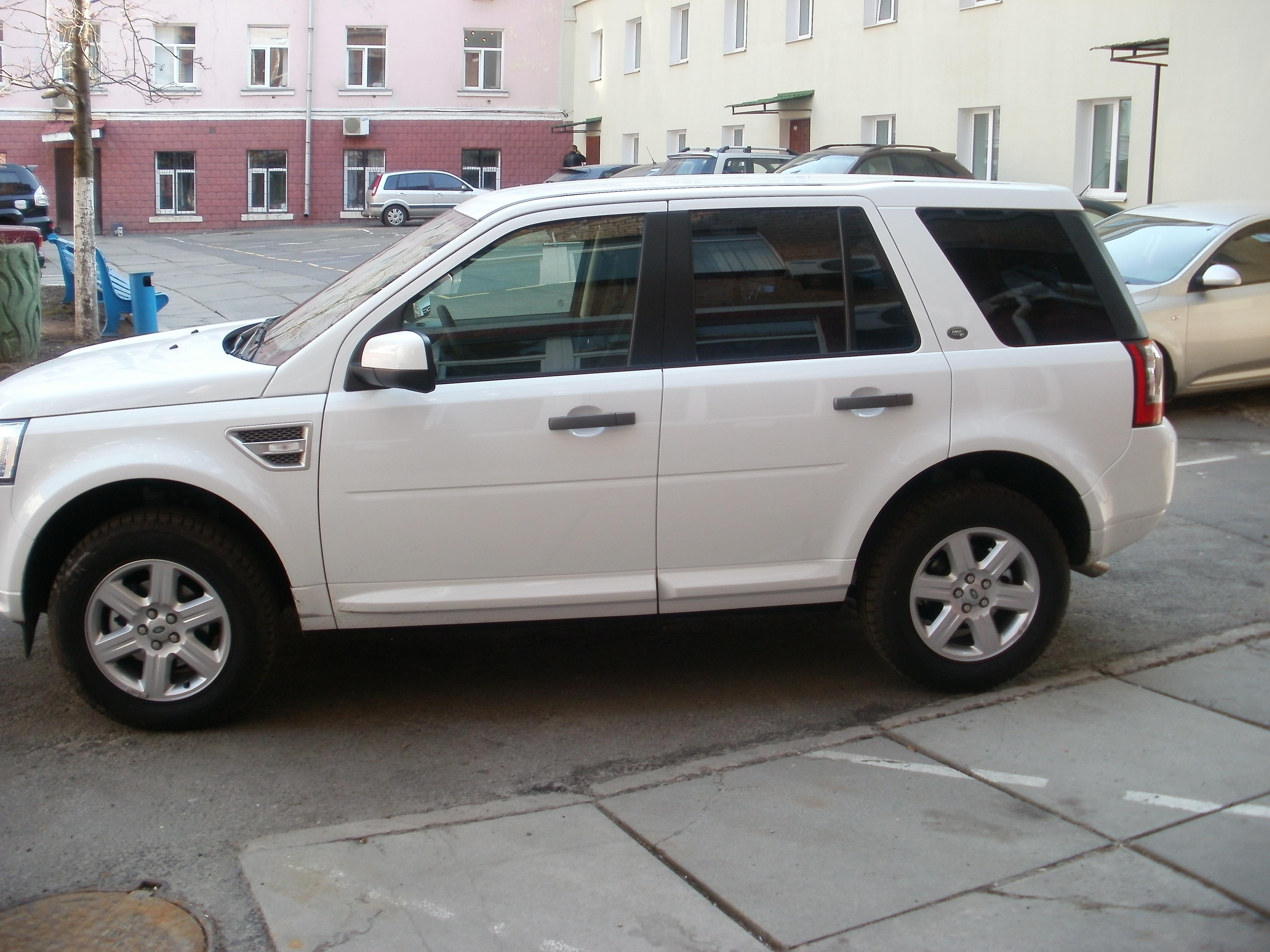 Тонировка Land Rover Freelander