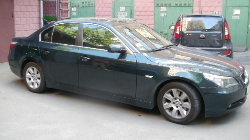 Тонировка автомобиля BMW 525