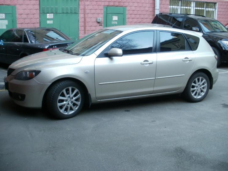 тонировка авто Mazda 3