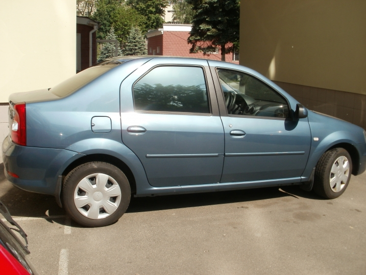тонировка авто Dacia Logan