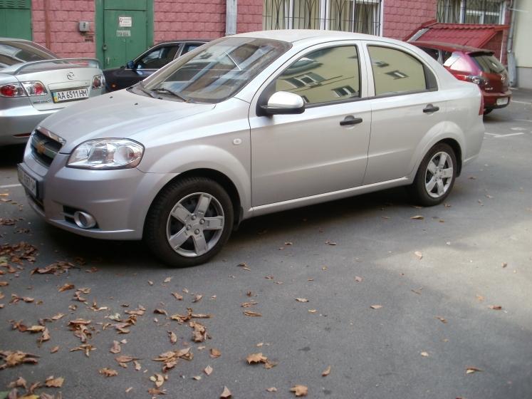тонировка Chevrolet Aveo