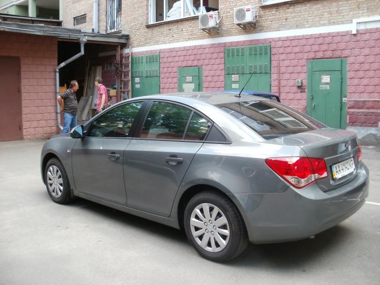 Тонировка автомобиля Chevrolet Cruze