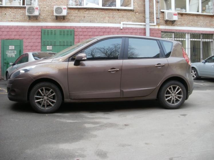 тонировка Renault Scenic