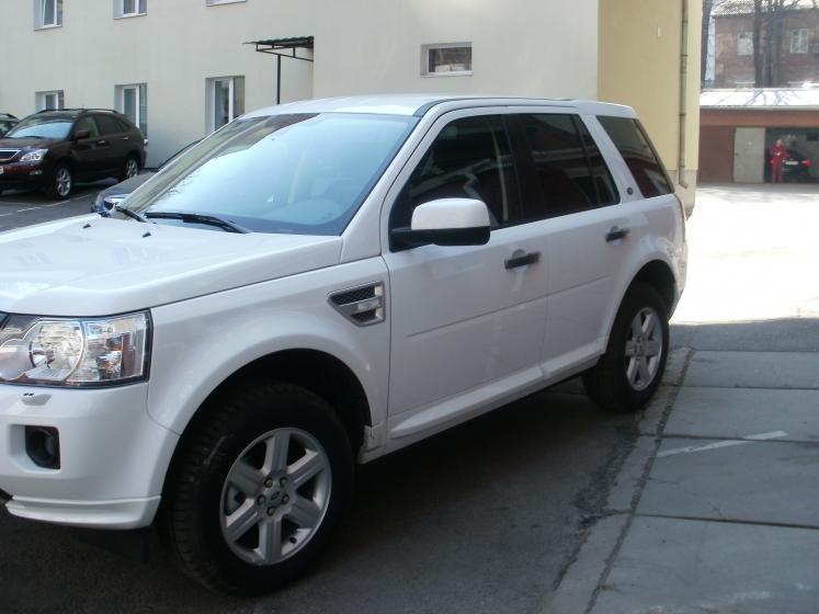 Тонировка авто киев Land Rover Freelander